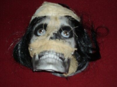 Halloween mummy chatting skull HYDE AND EEK SEALED! LIGHTS UP-MAKES SOUNDS