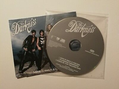 The Darkness Love Is Only A Feeling Dvd Uk Cd Poster 224
