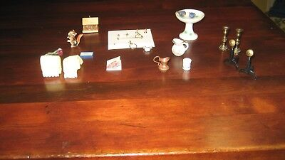 Lot  Of   20  Pieces  Doll House Miniatures  Have More And Will Combine Shipping
