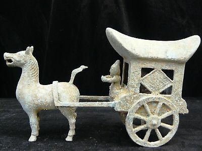 On Sale! Antique Brass Carriage (BR07)