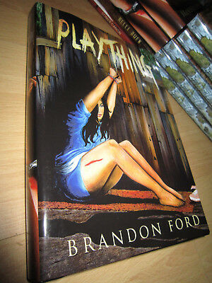 Brandon Ford PLAYTHING 1st/HB SIGNED/LIMITED MINT Thunderstorm Books