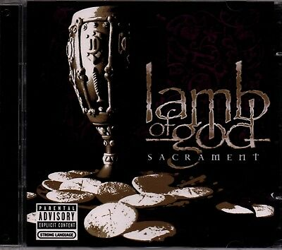 LAMB OF GOD - Sacrament - CD Album + Bonus DVD