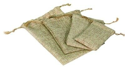 Drawstring Bags for Jewelry Pouch Burlap Gift Bags Burlap Bags ASSORTED (48) Bag