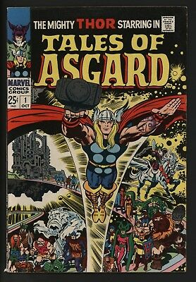 Tales Of Asgard #1 Great Jack Kirby Art Stories From Journey Into Mystery
