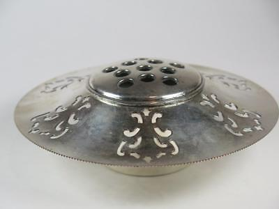Vintage Silver Plated TABLE CENTRE PIECE or FLOWER FROG Benedict-Proctor Canada