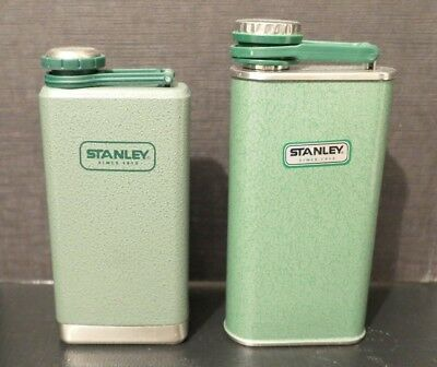 Stanley Classic 8 oz Insulated Stainless Steel Flask Lot of 2