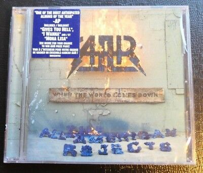 When the World Comes Down by The All-American Rejects (CD, 2008, DGC) SEALED