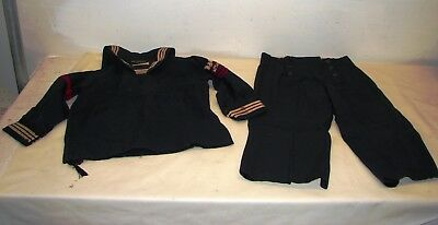 vintage Tom sawyer For Real Boys WW2 US Navy sailor uniform childs outfit