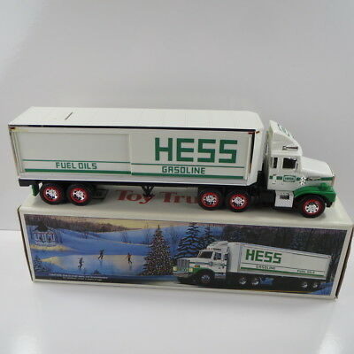 1987 Hess Truck - Toy Truck Bank - Excellent Condition With Box