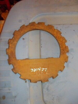 1 USED No.1 STEEL / CAST IRON Allis Chalmers PLANTER AC Seed PLATE 321477
