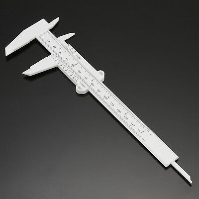 2 x Eyebrow Measure Caliper Microblading Gauge Brow Ruler Permanent Makeup Tool