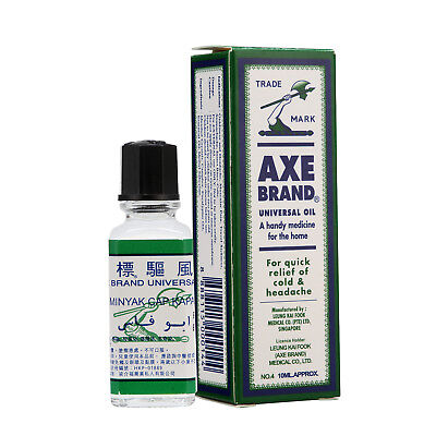 AXE BRAND Universal Oil Home First Aid Headache Pain Insect Bites Colic Relief