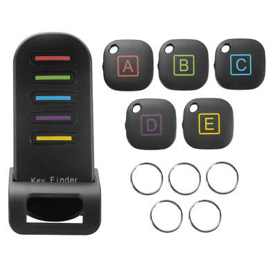 5in1 Wireless RF Item Locator Key Bag Finder Remote Control Tracker KeyringAH462