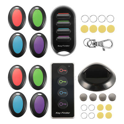 Wireless RF Locator Key Bag Wallet Finder Remote Control Item Tracker Keyring
