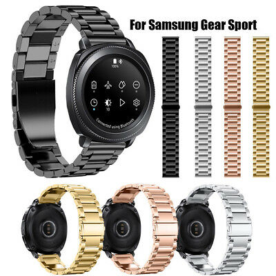 Luxury Solid Stainless Steel Watch Band Strap Metal Band For Samsung Gear Sport