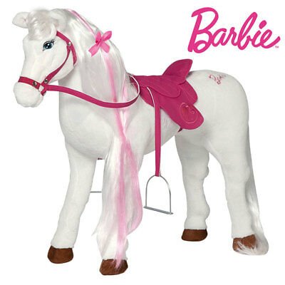 Happy People Barbie XXL Plüsch Pferd Majesty Stofftier 58055