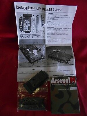 "Arsenal.."" Raketenjagdpanzer "".. Jaguar 1 A0A1.. Resin-Bausatz.. 1:87.. in OVP"