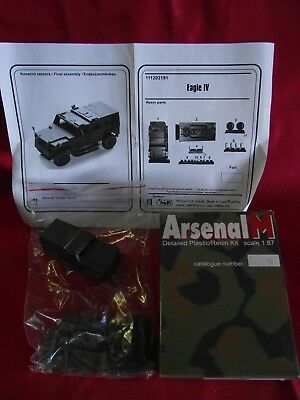 "Arsenal M..Militär-Modell.."" EAGLE IV "".. Art.111202191 ..Resin..1:87..in OVP"