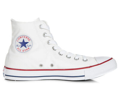 Converse Chuck Taylor Unisex All Star High Top Shoe - Optic White