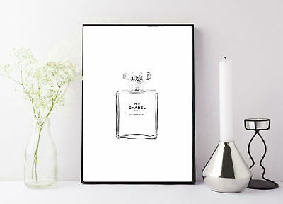 print/poster drawing painting coco chanel black and white sketch drawing print