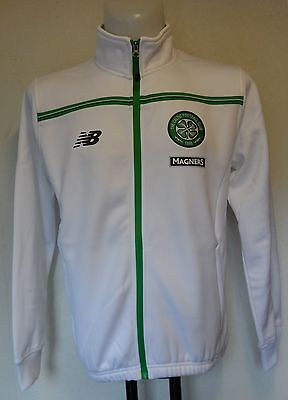 Celtic 2015/16 White Walkout Jacket  By New Balance Size Men's Small Brand New