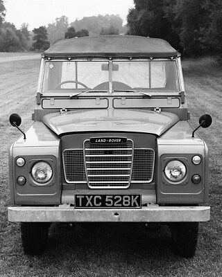 1973 Land Rover 88 Factory Photo cb1707