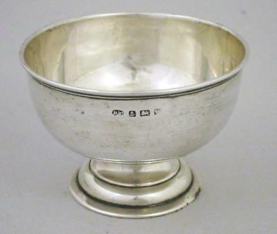 FINE ANTIQUE ART NOUVEAU STERLING SILVER BOWL1919 vintage
