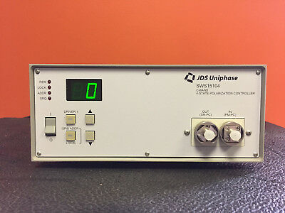 JDS Uniphase SWS15104 1530 to 1565nm, C-Band, 4 State, Polarization Controller