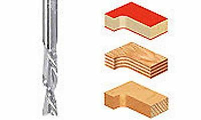 """1/4"""" Spiral Down cut Solid Carbide Router Bit  for CNC Smooth cutting"""