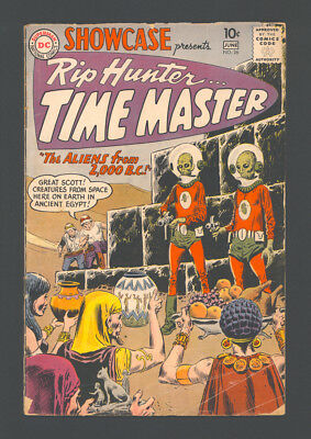 """SHOWCASE #26 """"1960"""". Presents the 4th App. of RIP HUNTER... TIME MASTER!"""