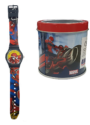 Marvel Orologio Analogico Da Polso Bambino Spiderman PS 00074