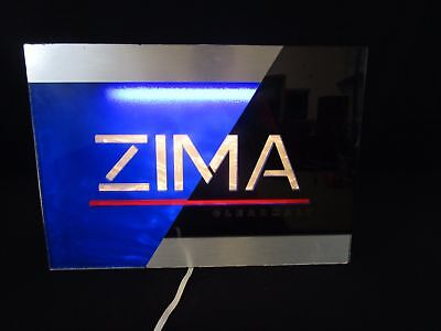 1993 Zima Clear Malt Indoor Electric Sign Form 1 No. AW 067953 (140)