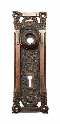 Bronze Columbian Plate with Keyhole