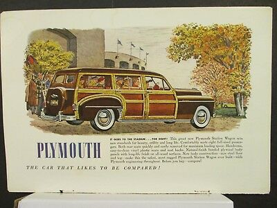 1930's-1940's Vintage Natl Geographic Automobile Magazine Ads -  66 Different