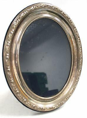 Vintage 1991 Carrs of Sheffield SOLID SILVER Ornate Oval Photo Frame  - M21