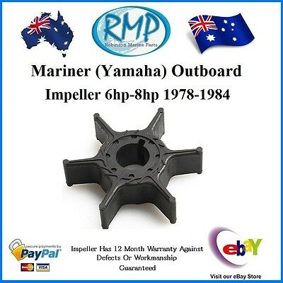 A Brand New Mariner (Yamaha) Water Pump Impeller 6hp-8hp 1978-1984 # R 47-11590M