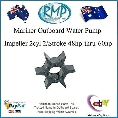 A Brand New Water Pump Impeller Mariner 2cyl 48hp-thru-60hp # R 47-81423M  (6H3)