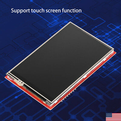 """3.5"""" TFT LCD Display TouchScreen Module for Arduino UNO Board Plug& Play 5V/3.3V"""