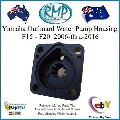 A Brand New RMP Yamaha Outboard Water Pump Housing F15hp-F20hp # R 6AH-44311-00