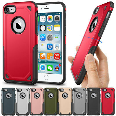 Heavy Duty Hybrid Rugged Shockproof Phone Case For Apple iPhone 8 7 6s 6 Plus