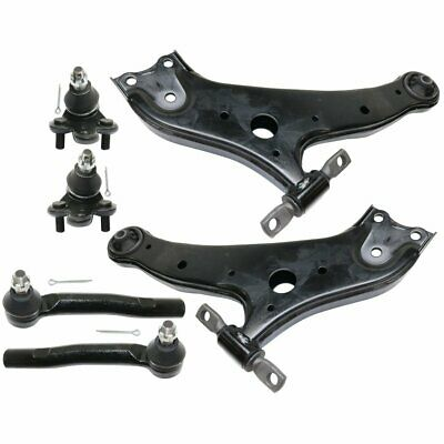 Control Arm Kit For 2008-2016 Toyota Highlander Front Left and Right 6pc