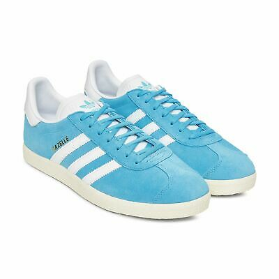 on sale 6bee2 4fac5 Adidas Gazelle Sneakers Bright Cyan Size 8 9 10 11 12 Mens NMD Boost Y-