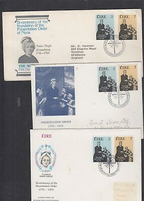 Ireland 1975 Presentation Order of Nuns First Day Cover FDC