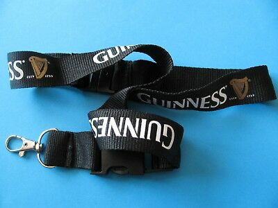 New GUINNESS Lanyard. Beer Brewery, Stout.