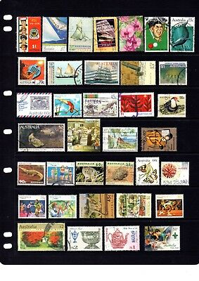 Australian sheet stamps, including high value, free post - off paper - Lot 416.