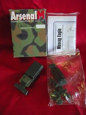 "Arsenal M .."" Mowag Eagle "".. Art.91105 .. Resin-Bausatz.. 1:87.. in OVP"