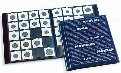 Lighthouse A4 Sized Coin Album Holds 200 Coins In Holders 10 Pages £1 £2 50p