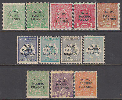 NORTH WEST PACIFIC ISLANDS NWPI 1915-22 group mh (12) CV £66