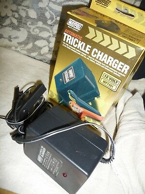 Motorcycle / car trickle charger MAYPOLE automatic charge 12v output + box