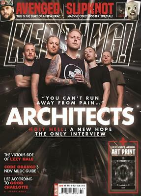 Kerrang! Magazine Sept 15 2018: Architects SLIPKNOT Avenged Sevenfold LZZY HALE